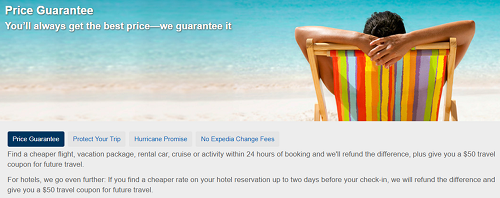 Expedia Best Price Guarantee