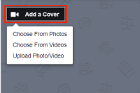 Add a cover photo