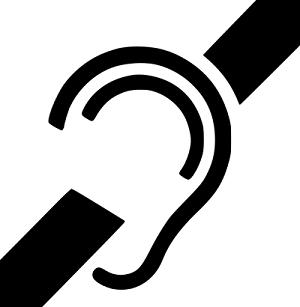 Hearing imapairment symbol