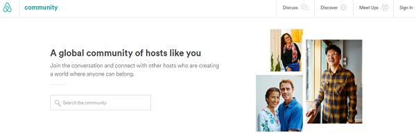 Airbnb community