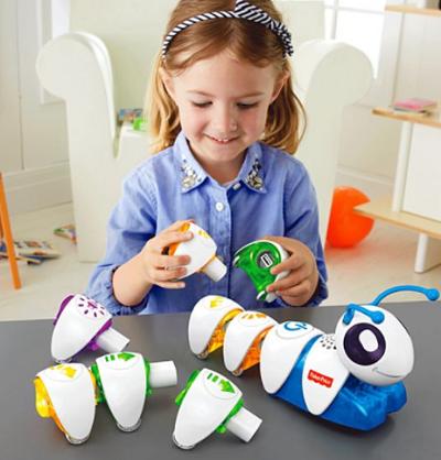 Fischer Price Code-a-Pillar toy