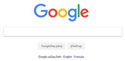 Google Search in Klingon