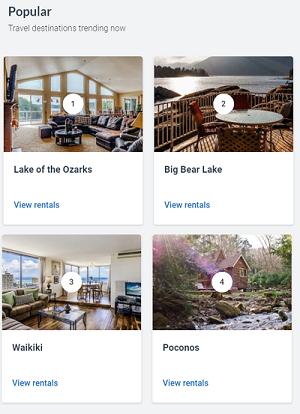 VacationRentals app