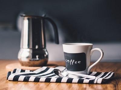 Coffee mug and coffee
