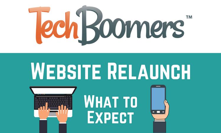 TechBoomers relaunch banner