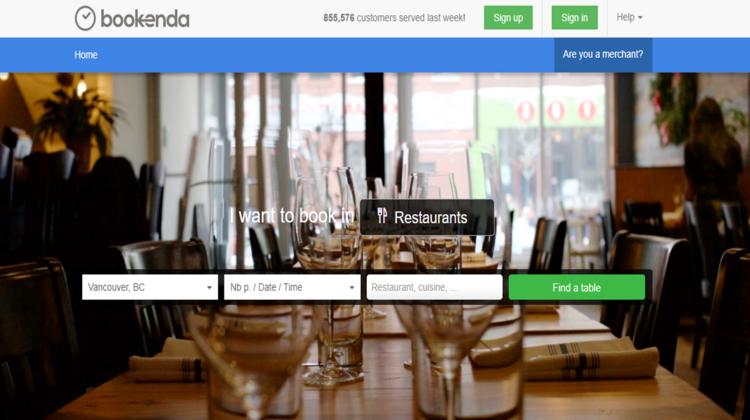 Bookenda homepage