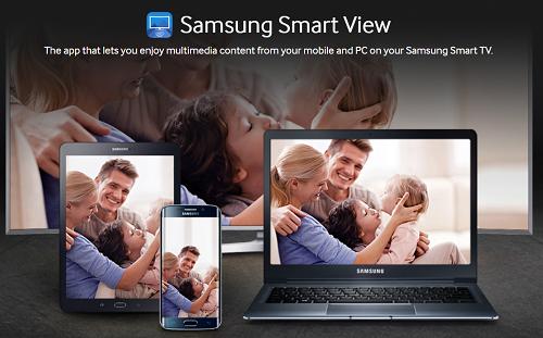 Samsung Smart View banner