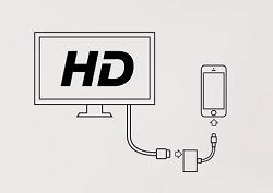 iOS to TV setup example